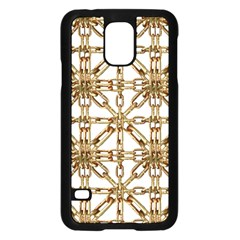 Chain Pattern Collage Samsung Galaxy S5 Case (black) by dflcprints