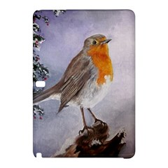 Robin On Log Samsung Galaxy Tab Pro 12 2 Hardshell Case by ArtByThree