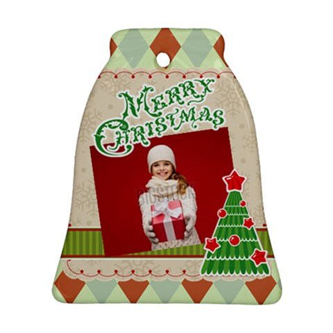 Xmas By Xmas   Ornament (bell)   H1v4f19sqmbp   Www Artscow Com Front