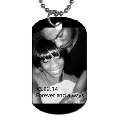By Stephanie   Dog Tag (two Sides)   Ru5vxw7vf25j   Www Artscow Com Front