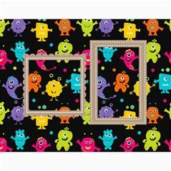 Wall Calendar 11 X 8 5 : My Lil Monsters By Jennyl   Wall Calendar 11  X 8 5  (12 Months)   Tpeaye53yi8r   Www Artscow Com Month