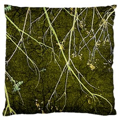 Wild Nature Collage Print Large Cushion Case (single Sided)  by dflcprints