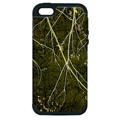 Wild Nature Collage Print Apple Iphone 5 Hardshell Case (pc+silicone) by dflcprints