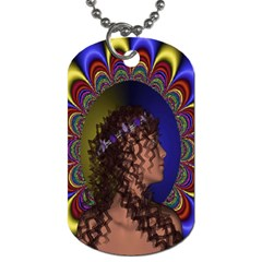 New Romantic Dog Tag (two Sided)  by icarusismartdesigns
