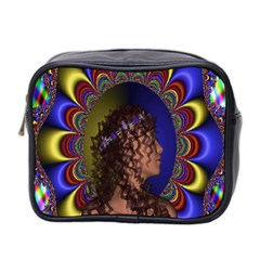 New Romantic Mini Travel Toiletry Bag (two Sides) by icarusismartdesigns
