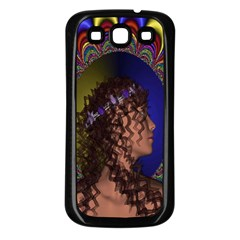 New Romantic Samsung Galaxy S3 Back Case (black) by icarusismartdesigns
