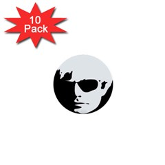 Warhol 1  Mini Button (10 Pack) by icarusismartdesigns
