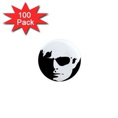 Warhol 1  Mini Button Magnet (100 Pack) by icarusismartdesigns