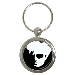 Warhol Key Chain (round) by icarusismartdesigns