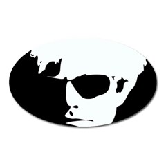 Warhol Magnet (oval) by icarusismartdesigns