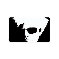 Warhol Magnet (name Card) by icarusismartdesigns