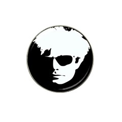 Warhol Golf Ball Marker (for Hat Clip) by icarusismartdesigns