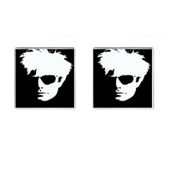Warhol Cufflinks (square) by icarusismartdesigns
