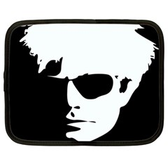 Warhol Netbook Sleeve (xxl) by icarusismartdesigns