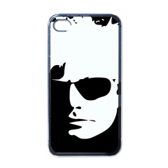 Warhol Apple Iphone 4 Case (black) by icarusismartdesigns