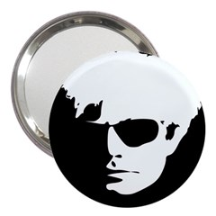 Warhol 3  Handbag Mirror by icarusismartdesigns