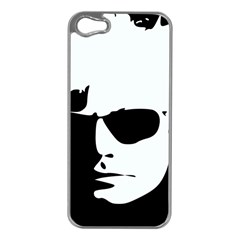 Warhol Apple Iphone 5 Case (silver) by icarusismartdesigns