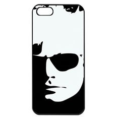 Warhol Apple Iphone 5 Seamless Case (black) by icarusismartdesigns