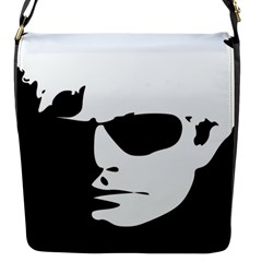 Warhol Flap Closure Messenger Bag (small) by icarusismartdesigns