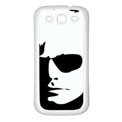 Warhol Samsung Galaxy S3 Back Case (white) by icarusismartdesigns