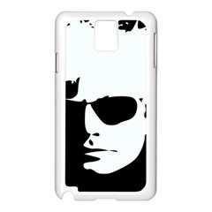 Warhol Samsung Galaxy Note 3 N9005 Case (white) by icarusismartdesigns