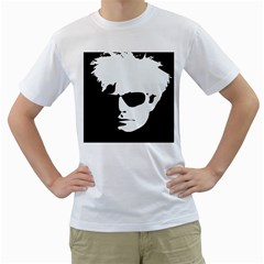 Warhol Men s T Shirt (white)  by icarusismartdesigns