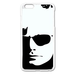 Warhol Apple Iphone 6 Plus Enamel White Case by icarusismartdesigns