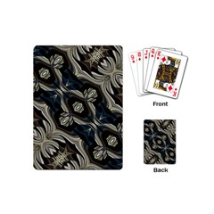 Fancy Ornament Print Playing Cards (mini) by dflcprints