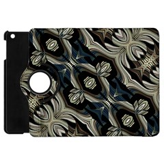 Fancy Ornament Print Apple Ipad Mini Flip 360 Case by dflcprints