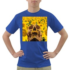 Sunflowers Men s T Shirt (colored) by icarusismartdesigns