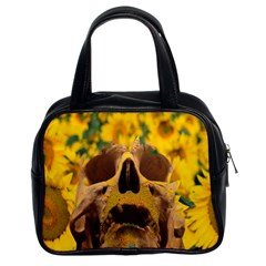 Sunflowers Classic Handbag (two Sides) by icarusismartdesigns