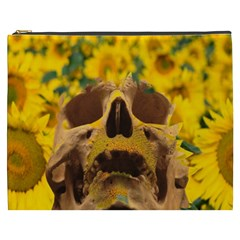 Sunflowers Cosmetic Bag (xxxl) by icarusismartdesigns