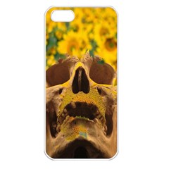 Sunflowers Apple Iphone 5 Seamless Case (white) by icarusismartdesigns