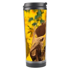 Sunflowers Travel Tumbler by icarusismartdesigns