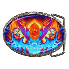 Escape From The Sun Belt Buckle (oval) by icarusismartdesigns