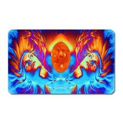 Escape From The Sun Magnet (rectangular) by icarusismartdesigns