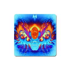 Escape From The Sun Magnet (square) by icarusismartdesigns