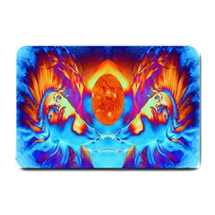 Escape From The Sun Small Door Mat by icarusismartdesigns