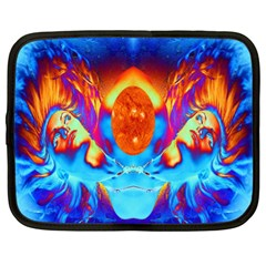 Escape From The Sun Netbook Sleeve (xl) by icarusismartdesigns