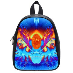 Escape From The Sun School Bag (small) by icarusismartdesigns