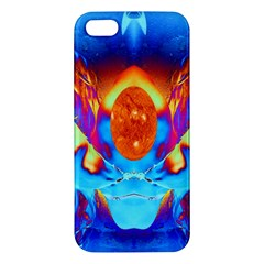 Escape From The Sun Apple Iphone 5 Premium Hardshell Case by icarusismartdesigns