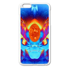 Escape From The Sun Apple Iphone 6 Plus Enamel White Case by icarusismartdesigns