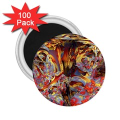 Abstract 4 2 25  Button Magnet (100 Pack) by icarusismartdesigns