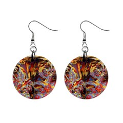 Abstract 4 Mini Button Earrings by icarusismartdesigns