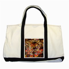 Abstract 4 Two Toned Tote Bag by icarusismartdesigns