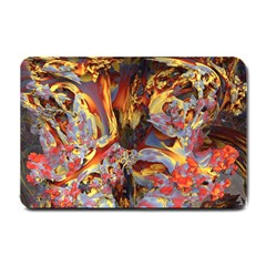 Abstract 4 Small Door Mat by icarusismartdesigns