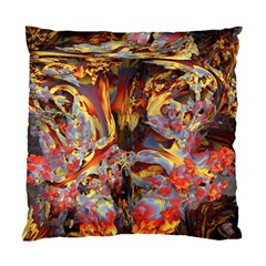Abstract 4 Cushion Case (two Sided)  by icarusismartdesigns