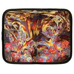 Abstract 4 Netbook Sleeve (xxl) by icarusismartdesigns