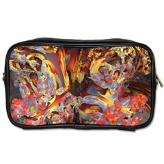 Abstract 4 Travel Toiletry Bag (two Sides) by icarusismartdesigns