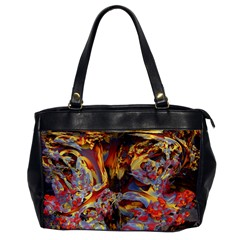 Abstract 4 Oversize Office Handbag (one Side) by icarusismartdesigns